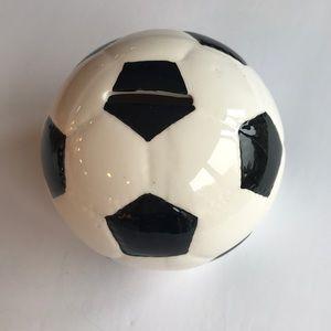 Soccer Ball Bank - NEW
